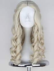 Cosplay Wigs Fairytale Movie Cosplay Yellow Solid Wig Halloween / Christmas / New Year Female