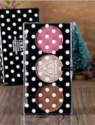 3 Blush Secos PóGloss Colorido / Humidade / Controlo de Óleo / Longa Duração / Corretivo / Peles com Manchas / Natural / Minimizador de