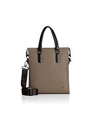 Formal / Casual / Oficina y Trabajo - Bolso de Hombro / Tote / Portafolios / Bolsa de Portátil / Cross Body Bag - Piel de Vaca - Caqui -