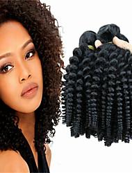 3pcs / lot non traité uk tante d'extension de cheveux funmi, cheveux brésilien, Vente en gros faisceaux vierges d'armure de cheveux