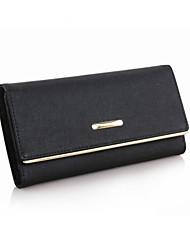 Minaudière / Portefeuille / Etui à Carte & Pièce d'Identité / Porte-chéquier / Mobile Bag Phone - Triple Portefeuille -Blanc / Violet /