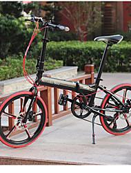 """7 versnellingen 20 """"mini opvouwbare mountainbike Kaijie ™ shimano aandrijflijn aluminiumlegering 3 spaken wielen 3 kleuren"""