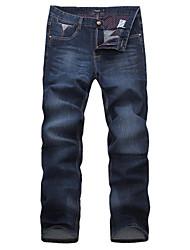 Lesmart Men's Jeans Pants Blue / Dark Blue - LL15133