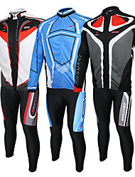 Bike/Cycling Arm Warmers / Jersey / Jersey + Pants/Jersey+Tights / Clothing Sets/Suits Unisex Long SleeveBreathable / 3D Pad / Reflective