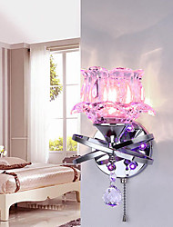 Cristal / LED Candelabro de pared,Moderno/ Contemporáneo G4 Metal