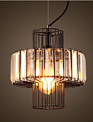 American Country Crystal Small Pendant Lamp