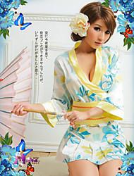 Vêtement de nuit Femme Uniformes & Tenues Chinoises Satin