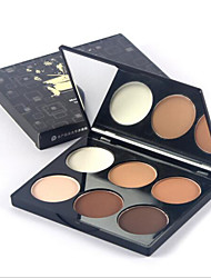 New MAYCHEER® 6 Colors High Light Shadow Powder  1Pc