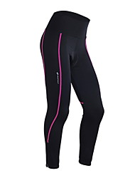 NUCKILY® Cycling Pants Women'sBreathable / Thermal / Warm / Quick Dry / Windproof / Anatomic Design / Ultraviolet Resistant / Moisture