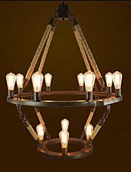 American Industrial Wind Village Restaurant Hemp 12 European Retro Bar Lamp