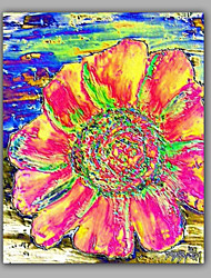 Big Floral Oil Painting 1 Piece for Living Room
