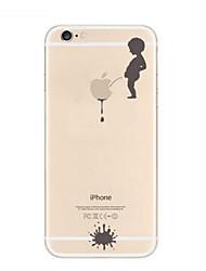 Para Funda iPhone 7 / Funda iPhone 7 Plus / Funda iPhone 6 / Funda iPhone 6 Plus Transparente / Diseños Funda Cubierta Trasera FundaLogo
