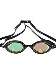 tamaño ajustable gafas pc silicio súper k chapado unisex contra antiniebla gafas de natación a prueba de agua