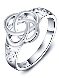 925 Sterling Silver Women Jewelry High Quality Plated Ring Perfect Gift For Girls
