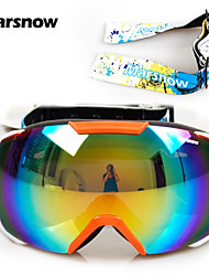 Two Exchangeable Belts 2016 Snowboard Goggles For Men Women Big View Snow Glasses Double Layer Skiing Goggle M0086