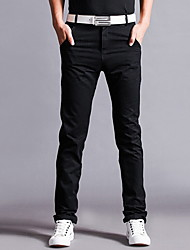Men's Chinos , Casual Pure Cotton Pants