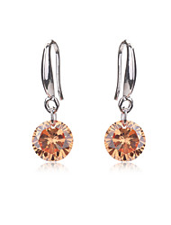 Bridal Jewelry Crystal Earrings Women Wedding CZ Diamond For Teen Girls Party Holiday Fashion Earring Accessories