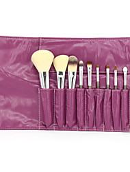 Professional Makeup Brushes Set 10 Pieces Makeup Tools Kit with Case
