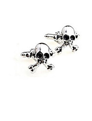 Men's Cuff Links Stainless Steel Cufflinks Wedding Novelty Silver Lot Gift Shirt