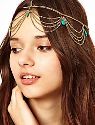 Tassel Chain Multi-Layers Headband