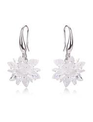 Jewelry Women Wedding Crystal Earrings CZ Diamond For Teen Girls Bridal Holiday Fashion Earring Accessories