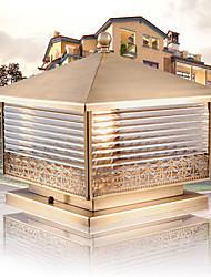 European-style Lamp Head Lamp Post Full Copper Waterproof Outdoor Led Villa Front Door Garden Fence Head Lamp