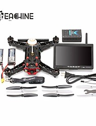 Eachine Eachine Racer 250 FPV Drone Built in 5.8G Transmitter OSD With 7 Inch 32CH Monitor HD Camera ARF Dron 2 ejes 6 canales 2.4G