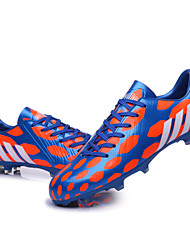 Soccer Shoes Spike Nails Professional Race and Training Shoes Men/Women/Boy/Girl Bule/Black/Gold