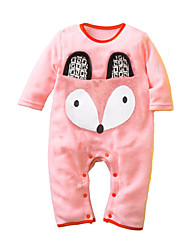 Newborn Baby Boy Girl Romper Spring Autumn Infant Clothing Toddler Jumpsuit Cotton Fabric