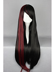 Lolita Wigs Sweet Lolita Lolita Long Black Lolita Wig 70 CM Cosplay Wigs Patchwork Wig For Women