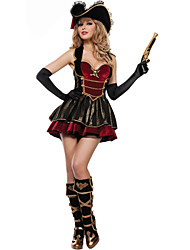 New!Extravagant Pirates Of The Caribbean Captain Jack Costumes,Halloween Costumes For Womenfor Carnival