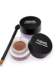 New NOVO® Eyeshadow Dry Eyeshadow Palette Powder Normal 1Pc