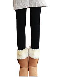 otoño de las mujeres y el invierno cálido pantalones de cachemir unidos