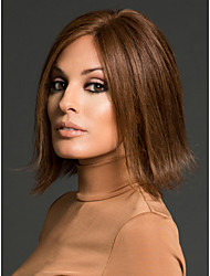 New Product  Medium  Synthetic  Wigs   Extensions Brown  Color Top Quality