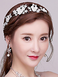 Korean Rhinestone / Alloy / Imitation Pearl Headpiece - Wedding / Special Occasion Headbands