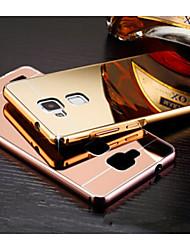 Pour Coque Huawei Mate 8 Plaqué Miroir Coque Coque Arrière Coque Couleur Pleine Dur Acrylique pour HuaweiHuawei Mate S Huawei Mate 8