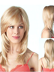 Extensions Best Quality Blonde  Color  Long  Syntheic Straight Wig