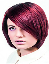 Charming Colorized Short  Syntheic  Wig Extensions Women Lady Fashion Style