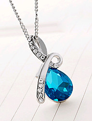 HUALUO®Angel Tears Crystal Necklace