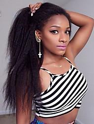 8-24Inch Kinky Straight Human Hair Wig Italian Yaki Straight Human Hair Lace Wig for Black Women