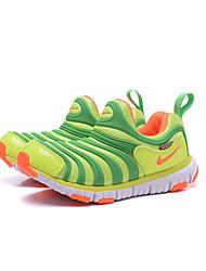 Nike dinamo niños libres 'zapatillas de deporte de moda en cuero napa / deportivo / tul al aire libre azul / verde / rojo