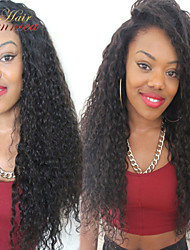 Brazilian Hair Full Lace Human Hair Wigs Glueless Lace Front Wigs With Baby Hair Kinky Curly Lace Wig For Black Women