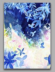 Handgemalte AbstraktStil Ein Panel Leinwand Hang-Ölgemälde For Haus Dekoration