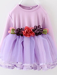 Girl's Color Kids Apparel , Clothing Style Fabric Season