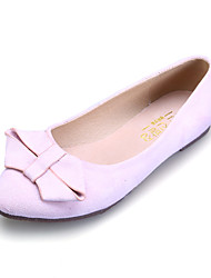 Girls' Shoes Dress / Casual Comfort / Pointed Toe / Closed Toe Flats Black / Blue / Pink / Burgundy