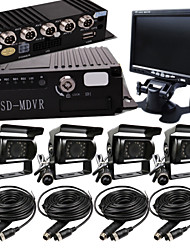 T - 009 card 4 Road Car Video Camera Display A Full Set OF Hardcover Video Recorder Bus Special Vehicle Management