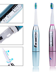 Waterproof Battery Operated Electric Toothbrush Oral Hygiene Health Products with 2 Brush Heads Professional Teeth Brush