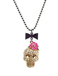 New Arrival Fashion Jewelry Retro Rose Mask Necklace