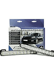E-mark Approved LED DRL for 100% Car Models High Quality IP68 Waterproof Resistance  Car LED Daytime Running Light