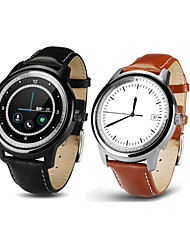 """1.33 """"dm365 полный круглый умный часы, Bluetooth 4.0 / громкой звонки / деятельность трекер / найти моего устройства"""